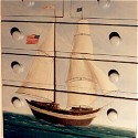Chest of Drawers painting